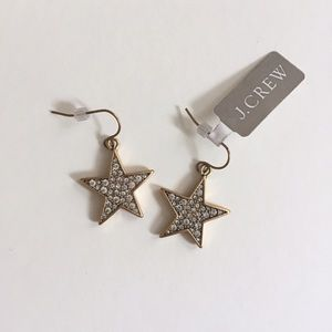 J. Crew Jewelry - J. Crew Star Earrings NWT