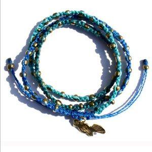 NIB ⚡️SALE⚡️Ketzali Blue Boho Handmade Bracelet