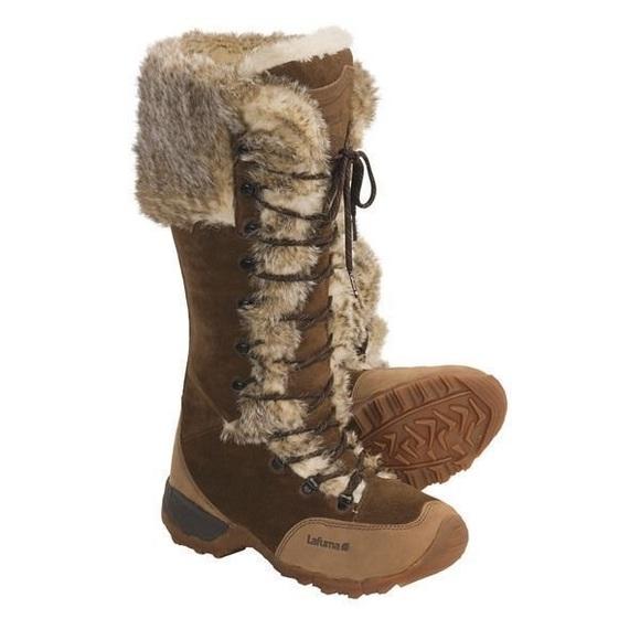 6be0db67bf5 Lafuma Shoes - Lafuma Kokta Fur Knee Length Winter Snow Boots