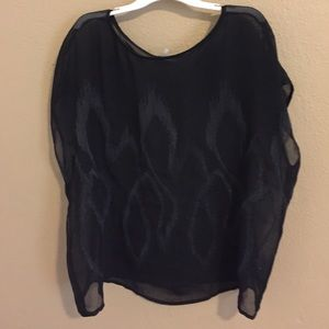 Sparkle and Fade opaque top