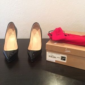 Christian Louboutin Pigalle size 38.5