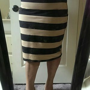 Dresses & Skirts - Cute Tan Bandage Skirt