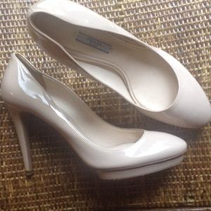 Authentic Prada Nude Pumps