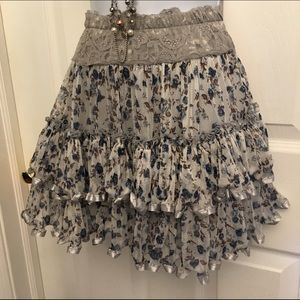 Dresses & Skirts - ✨Ruffly Floral Skirt!✨