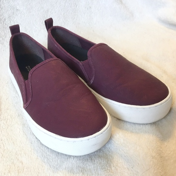52 h m shoes h m faux leather slip on shoes