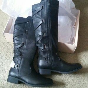 shoedazzle  Shoes - BRAND NEW FANCY BOOTS BY SHOEDAZZLE