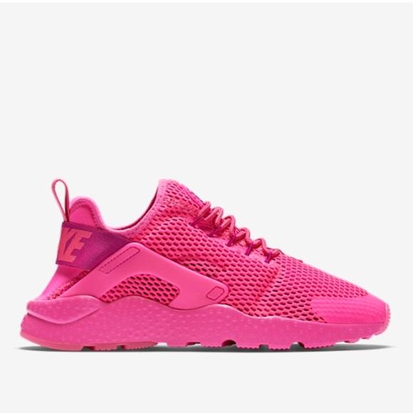 NEW Nike air huarache ultra breathe pink