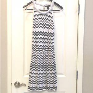 Gorgeous White House Black Market halter dress