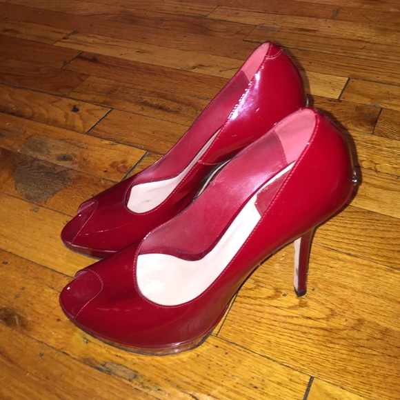 814a37c7c3c9 Dior Shoes - Christian Dior patent leather red pumps!