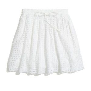 NWT Madewell bayfront eyelet skirt in small