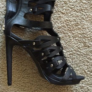 Penny ❤️ Kenny Shoes - Gladiator heels