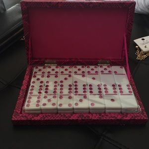 Other - Dominos with case.