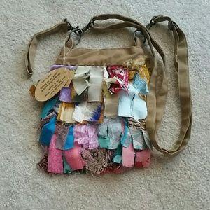 Handbags - Handmade Sari Scrap Boho Recycled Purse