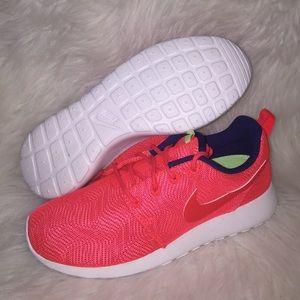 0d637427b301 Nike Shoes - Nike Roshe Run One Moire Crimson Sneakers WOMENS
