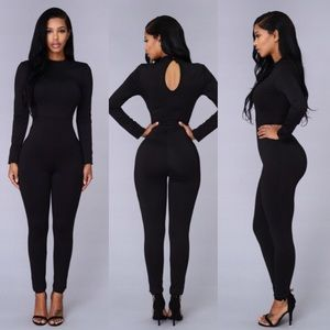 Other - One piece black  jumpsuit