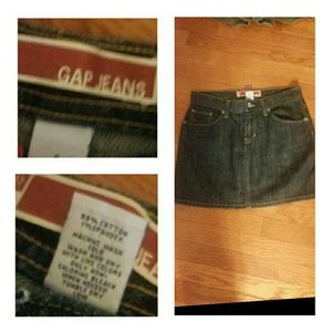 GAP Dresses & Skirts - Gap Jeans Size 4 Jean Skirt