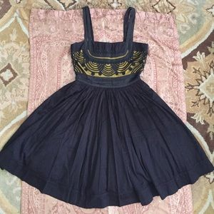 Anthropologie 20s style Floreat dress