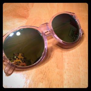 AQS Accessories - Mirrored, round sunglasses 🕶☀️