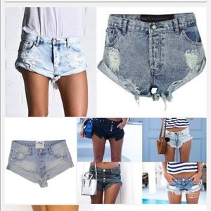 ISO Size 23/24 One Teaspoon Shorts