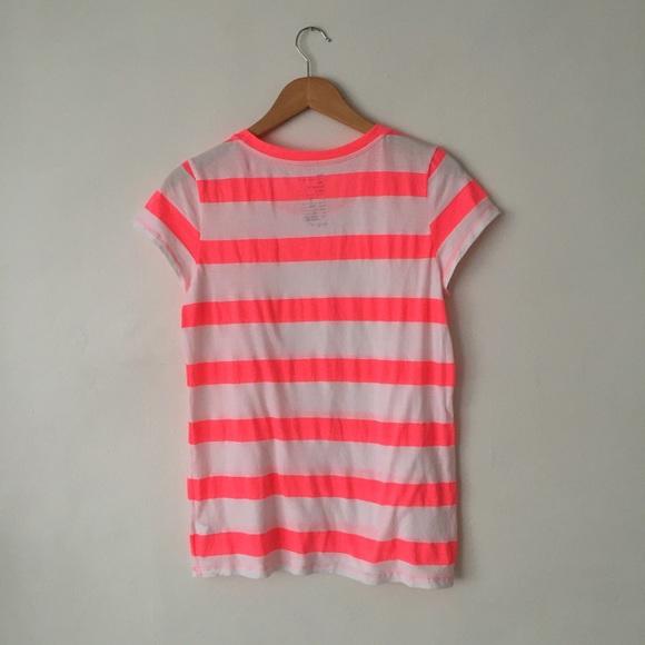 neon striped shirts