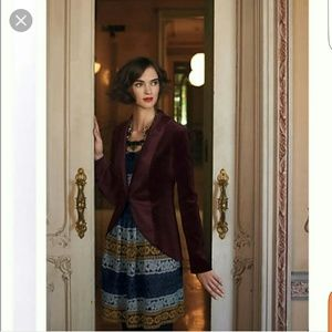 Anthro maeve crochet dress