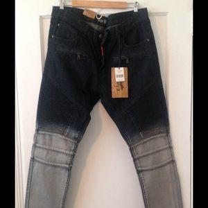 Other - Ombré men's Moto jeans size 36