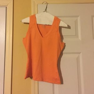 Orange Danskin top