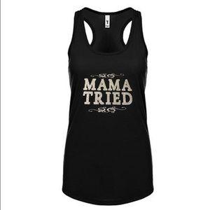 Mama Tried Glitter Tank
