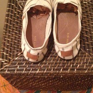 4376ed67e4f Madden Girl Shoes - MADDEN GIRL Striped Canvas Slip-On Size 9
