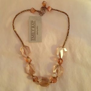 Emily Ray Jewelry - Emily Ray Copper Swarovski Crystal Necklace