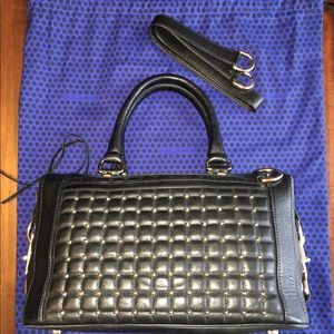 Rebecca Minkoff Leather Studded Satchel