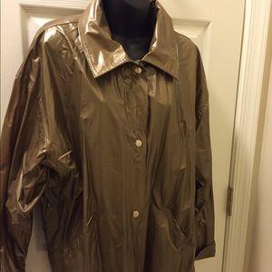 Totes Jackets & Blazers - CHROMATICS by Totes Rain Slicker