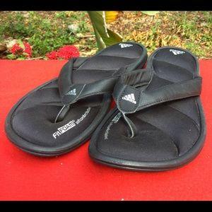 0e573991eb6394 ... Womens GUmn - GIPRSTY289 professional sale dbd49 557da  Adidas Shoes - ADIDAS  CHILWYANDA fitfoam black thong sandals 9.5 clearance sale 9fddc a15a9 ...