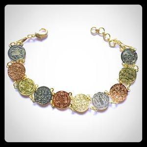 Jewelry - 14K Gold Plated 'San Benito' Bracelet