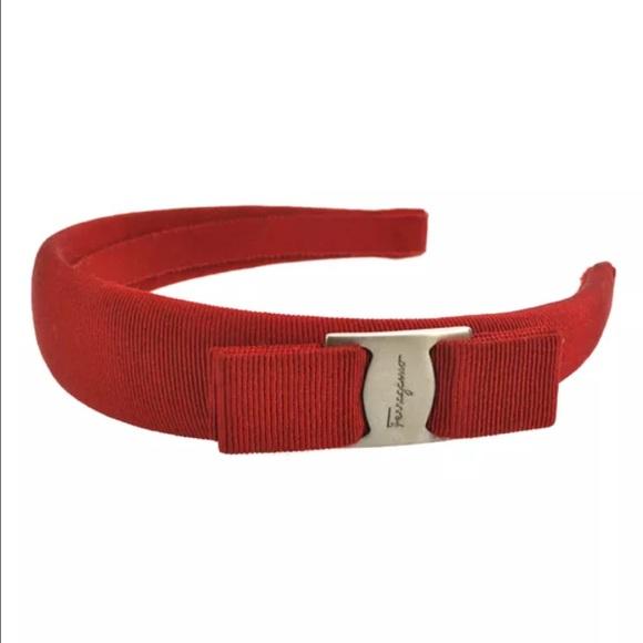 c2f1496e83 Original Salvatore Ferragamo headband red vintage.  M 57373cf27fab3a2a26048730. Other Accessories ...