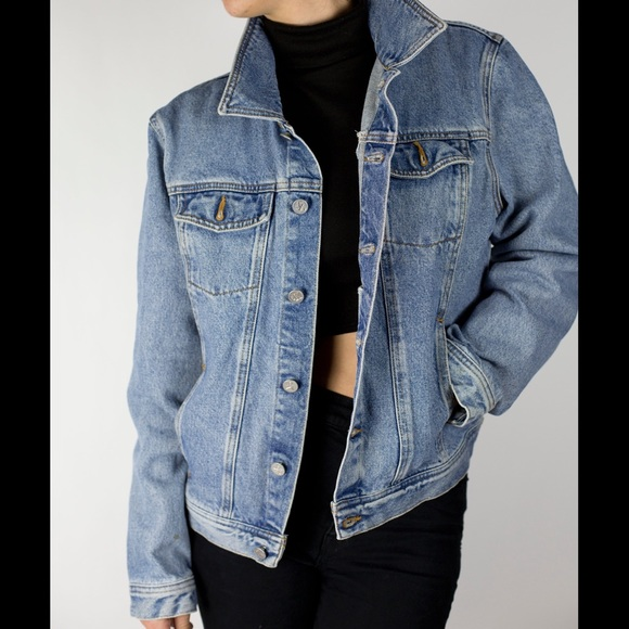 90s Calvin Klein Denim Jean Jacket. M 57373fdc6a5830c19a0486db. Other  Jackets   Coats ... 27a4f89e33