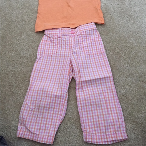 Other - Toddler 5T tee & cropped pants.