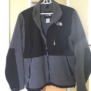 North Face Grey Fleece Jacket