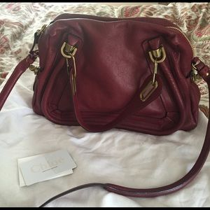 Chloe Paraty medium satchel