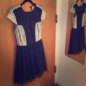Brand new w/tags ASOS Lace Skater Dress