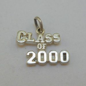 Jewelry - Sterling Class of 2000 Charm