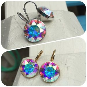 Jewelry - Earrings made with genuine Swarovski crystal #150