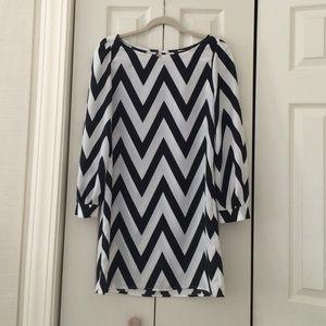 Size S chevron dress