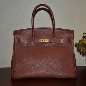 kelly bag replica - Hermes - ?AUTHENTIC? Hermes Orange Togo Birkin 30mm Bag from ...