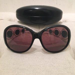Roberto Cavalli Accessories - Roberto Cavalli Black and Gold Sunglasses