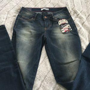 Dark wash cello jeans