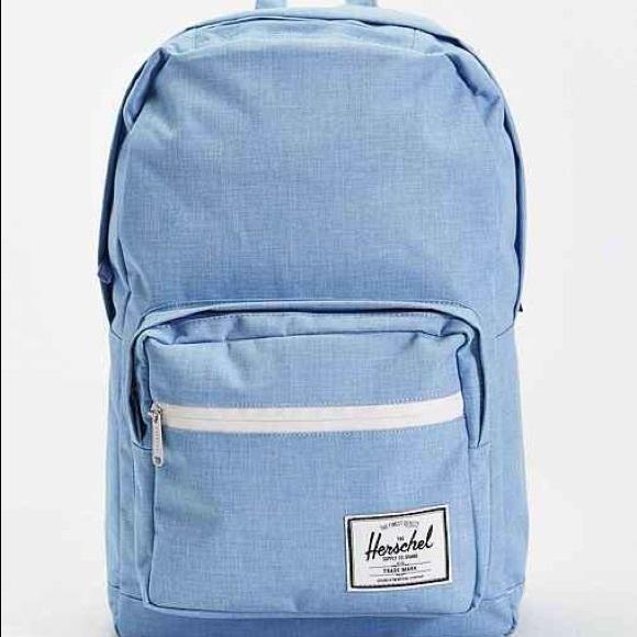 c2a8f66a166 Herschel Supply Company Handbags - Baby blue Herschel backpack Urban  Outfitters