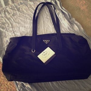 prada nylon and leather bag - 69% off Prada Handbags - Hold--Authentic Prada messenger bag. Vela ...
