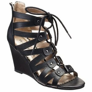 50 Off Rampage Shoes Wedge Sandals From Honey S