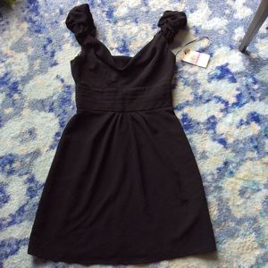 ABS black party dress